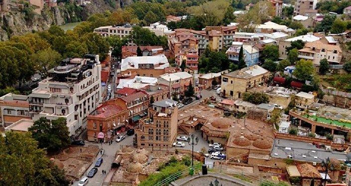 პანორამა თბილისი - ძველი ქალაქი