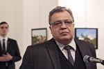 Посол России в Турции Андрей Карлов, убитый в ходе вооруженного нападения неизвестного