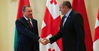 Встреча президента Грузии Георгия Маргвелашвили с министром иностранных дел Беларуси Владимиром Макеем