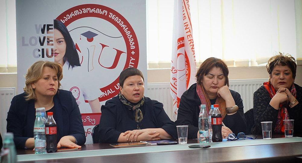 Презентация книги Страшная сказка ДАИШ в Тбилиси