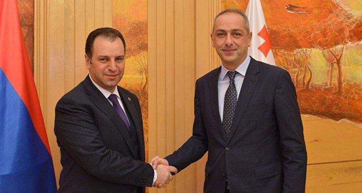 Ираклий Сесиашвили и Виген Саркисян