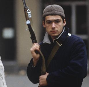 Лица войны. Тбилиси, 1991 год