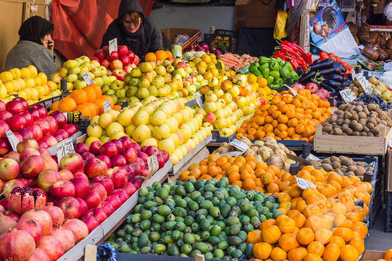 ხილი და ბოსტნეული