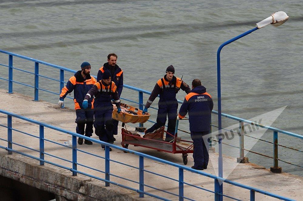 სამძებრო-სამაშველო სამუშაოები რუსეთის თავდაცვის  თვითმფრინავის, ტუ-154-ის ჩამოვარდნის ადგილზე სოჭში