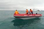 Кадры спасательной операции по поиску обломков Ту-154 на месте крушения