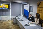 Видеомост Минск - Тбилиси - Кишинев по итогам выборов 2016 года