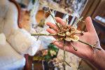 Новогодние украшения: как сделать декоративную снежинку