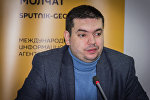 Председатель Союза русской молодежи Грузии Александр Беженцев