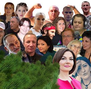 Грузины за рубежом - Коллаж Sputnik
