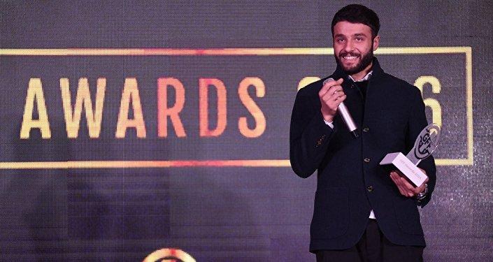 Торнике Окриашвили получил награду Лучший футболист Грузии 2016