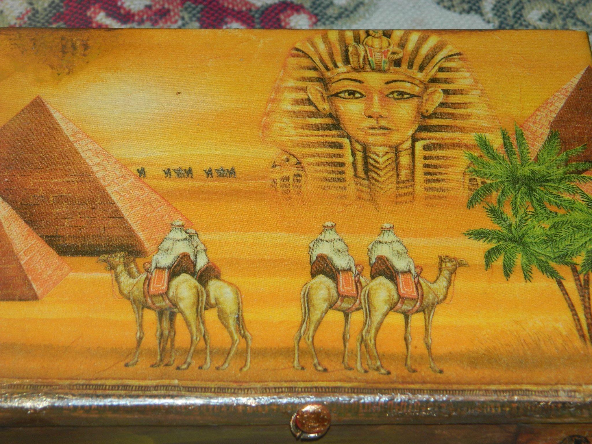 ციცინო კობიაშვილის დეკუპაჟი ეგვიპტური სიუჟეტებით