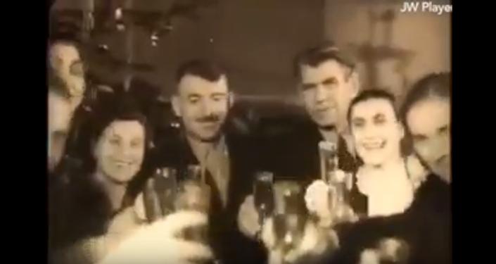 საქართველოს ტელევიზიის პირველი საახალწლო გადაცემა, 1956 წელი, 30 დეკემბერი