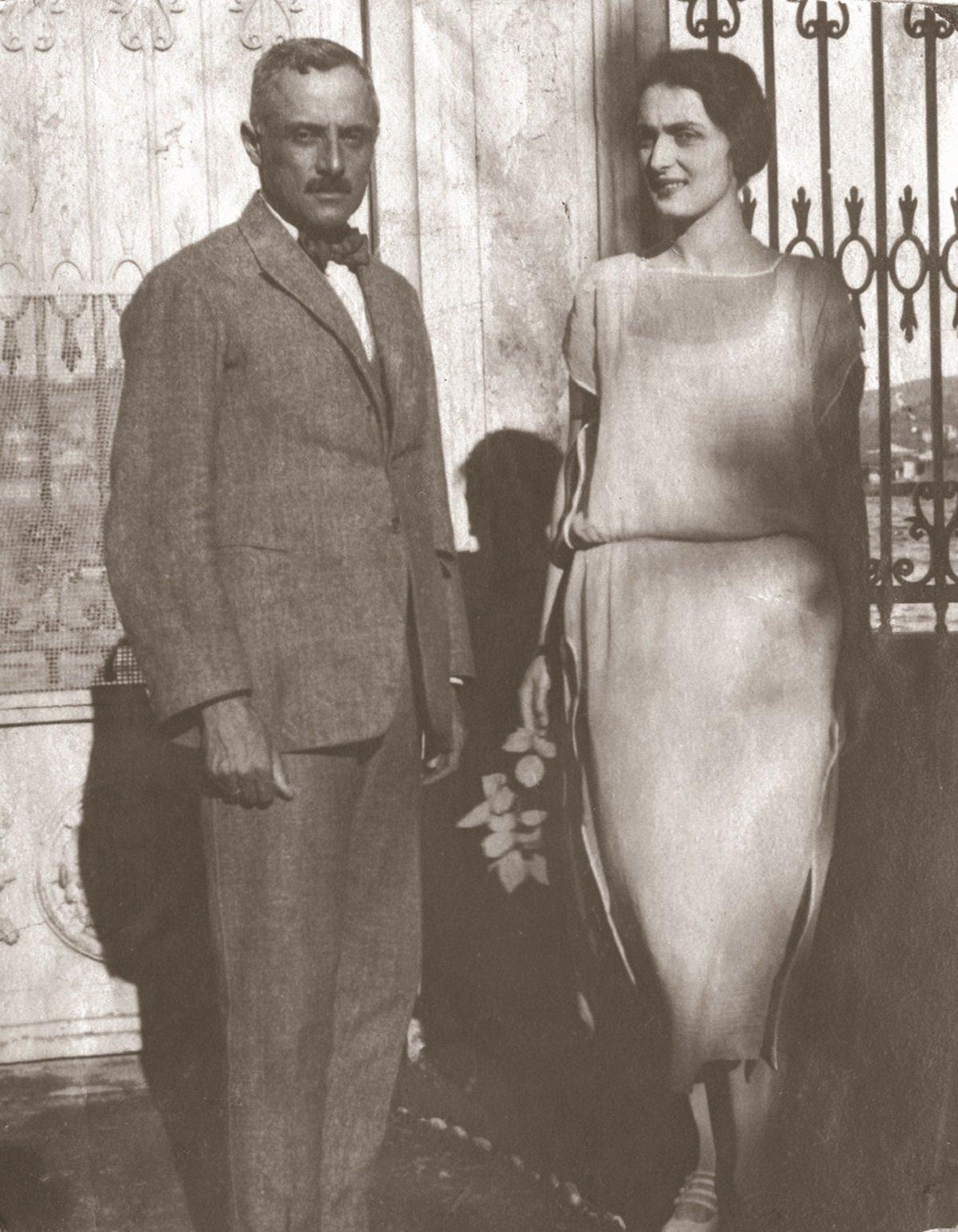 Мэри Шарвашидзе и Георгий Эристави