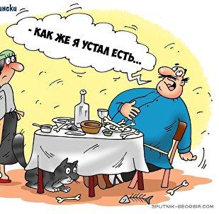 Новый год по-грузински
