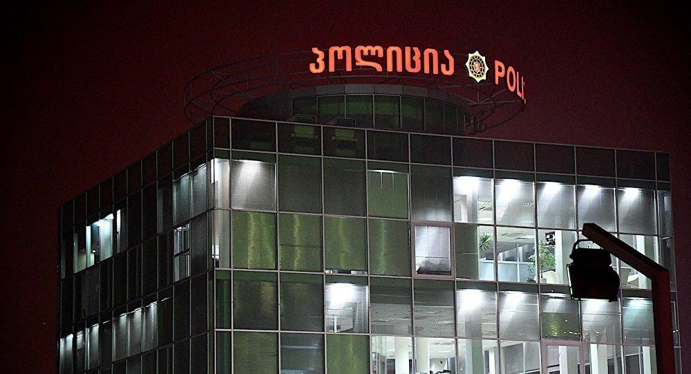 Одно из зданий районного отделения полиции в столице Грузии