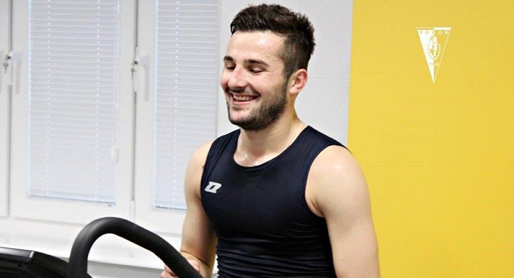 Полузащитник сборной Грузии по футболу Мате Цинцадзе