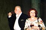 Бадри Патаркацишвили и Инна Гудавадзе