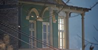 Один из домов в историческом центре Тбилиси