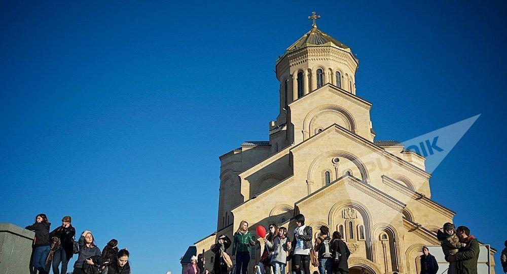 Кафедральный храм Святой Троицы Самеба