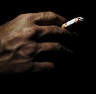 მოწევა