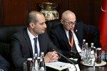 Михаил Джанелидзе и  Ахмед Айдын