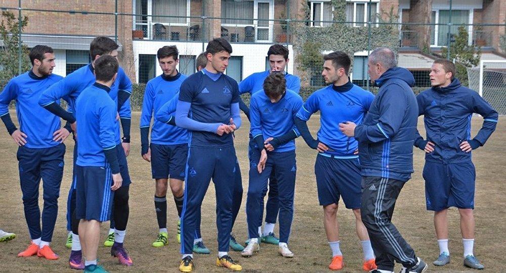Футболисты Динамо Тбилиси начали подготовку к новому сезону