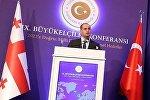 Министр иностранных дел Грузии на встрече турецких дипломатов в Анкаре