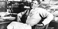 მწერალი ჯეკ ლონდონი, ფოტო გადაღებულია 1916 წელს მის გარდაცვალებამდე ცოტა ხნით ადრე