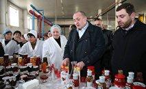 Георгий Маргвелашвили посещает грузинские предприятия