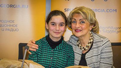 Участница проекта НТВ Ты - супер! Нана Вардзелашвили и певица Ирма Сохадзе