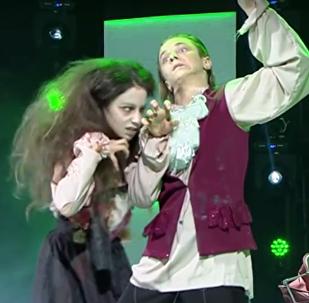 Нита Ломидзе и Лука Кармазанашвили на проекте Ты можешь танцевать