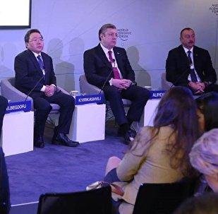 Премьер Грузии Георгий Квирикашвили на Всемирном экономическом форуме в Давосе
