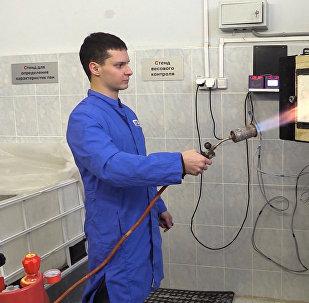 В России разработана уникальная пожарная пена
