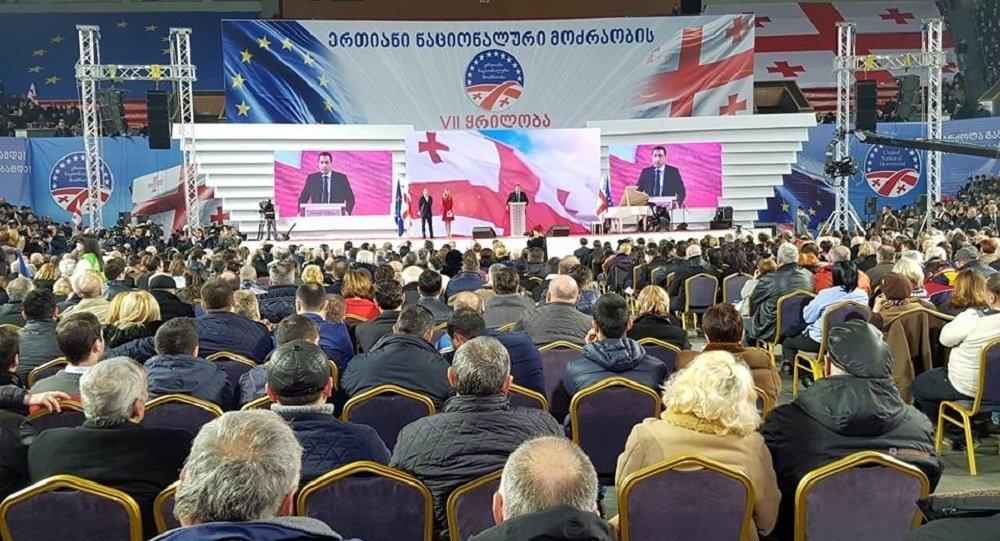 Партия Саакашвили остается без лидера