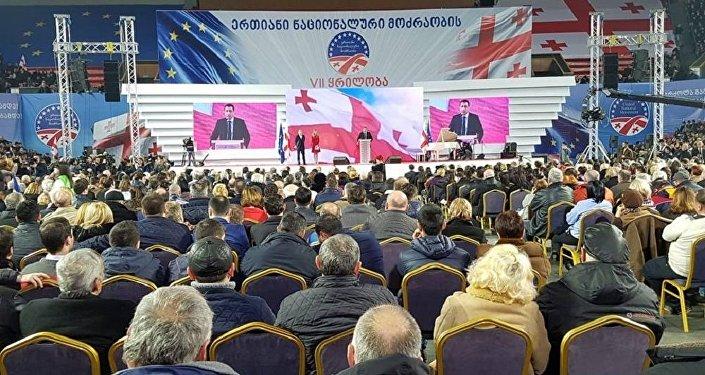 Саакашвили пообещал сделать сильную партию— Воодушевленный инаугурацией