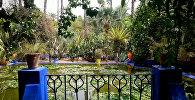 მაჟორელის ბაღი მაროკოში
