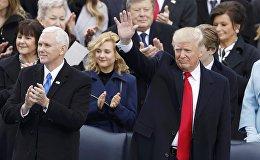 LIVE: Инаугурация избранного президента США Дональда Трампа