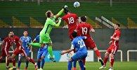 Футбол. Игра сборных Грузии и Узбекистана