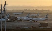 Аэропорт Бен-Гурион в Тель-Авиве, Израиль