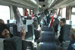 Первый поезд приехал в сирийский Алеппо с начала войны