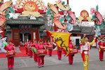 Новый год - год Петуха по китайскому лунному календарю. Пекин