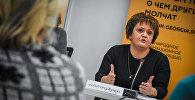 Председатель Союза безработных для занятости Тамара Иовашвили