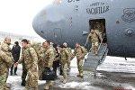 Грузинские военнослужащие вернулись из Афганистана