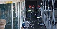 Пожар уничтожил торговый центр Детский мир