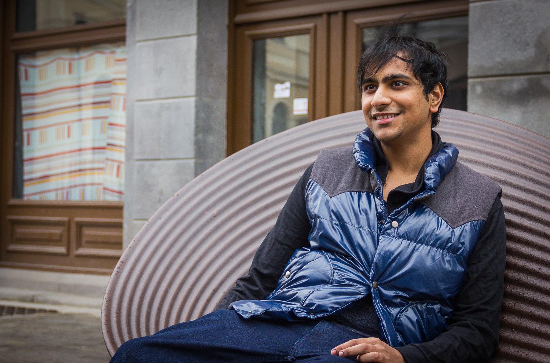 Индус из Кашмира, Индия, Давуд Тогу учится в Тбилиси на врача