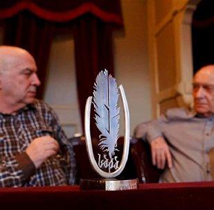 Леван Брегадзе - обладатель литературной премии Саба