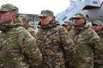 Грузинских военных проводили в ЦАР