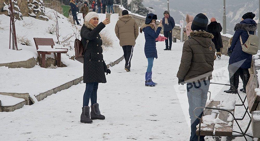 МВД: зимой Грузию посетило рекордное задесятилетие число граждан России