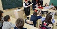 В школах Тбилиси проект Живые книги