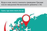Без виз из Грузии в ЕС: что нужно знать